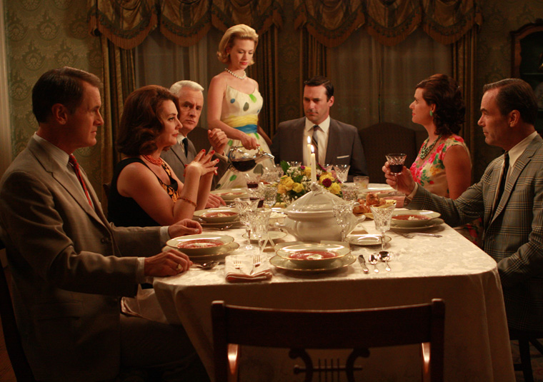 Hosting A Dinner Party Beauteous Of Mad Men Dinner Party Picture
